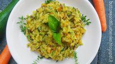 Risotto arcobaleno con tre tipi di riso e verdure | #vegan #vegetarian