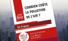 Infographie : le vrai coût de la pollution de l'air