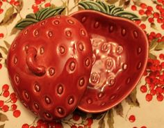 Strawberry covered dish