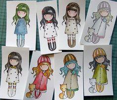 Muñecas dibujos Gorjuss