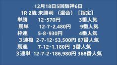 ・12月18日5回阪神6日高額払い戻し競馬02
