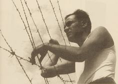 Joseph Epstein. Gurs camp. 1939.