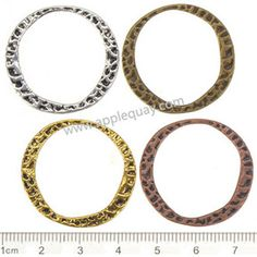 Zinc Alloy Round Ring Beads,Plated,Cadmium And Lead Free,Various Color For Choice,Approx 30*28*1.5mm,Hole:Approx 24.5mm,Sold By Bags,No 000369  Unit Price:USD 0.035 MOQ:1000 pcs Email: lichunjuan1@sina.com