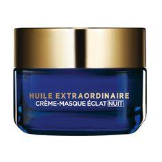 Crème Masque Eclat Nuit, Huile Extraordinaire, L'Oréal Paris, 17,15€ les 50ml
