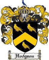 Hodgson Coat of Arms / Hodgson Family Crest