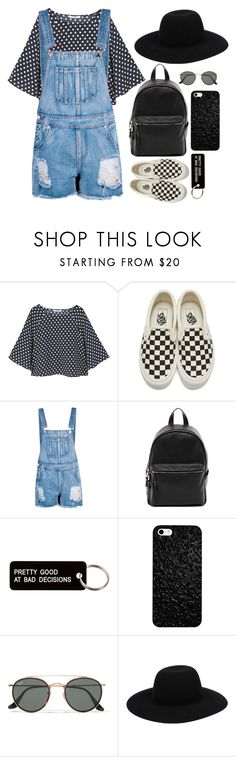 """""""let´s go take a drive jack"""" by maria143sara ❤ liked on Polyvore featuring MANGO, Vans, Boohoo, French Connection, Various Projects, Ray-Ban and Off-White"""