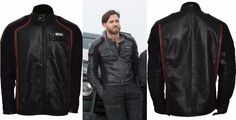 "We at Dewuchi Brings Edgar Ramirez Point Break Biker Leather Jacket for Bikers. This Attractive Black Leather Jacket Worn by ""Edgar Ramirez"" in Hollywood Movie ""Point Break"" 2015 as Bodhi. This Jacket is Made High Quality Real Leather.  This Jacket for Sale at Discounted Price $155.00. Buy It Now!!  #edgarramirez #pointbreak #menswear #mensfashion #clothing #fashionblog #dressup #collection #outfit  #glam #onlineshop #ecommerce #onlineshopping #shopmycloset #like #love"