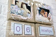 "Bee Shabby: Проект ""BABY"" - мастер-класс ""Календарь"" - декор комнаты. Вдохновение от Дины Ахметовой"