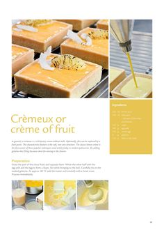 ISSUU - Bakery Magazine Autumn-Winter by FrieslandCampina Professional Bakery Recipes, My Recipes, Sweet Recipes, Dessert Recipes, Cooking Recipes, Pastry Art, Food Crush, Weird Food, Food Places