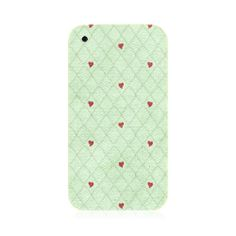 Hearts In Mesh iPhone 3G/3GS Case
