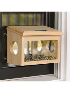 Mirrored Window Birdfeeder | Buy from Gardener's Supply