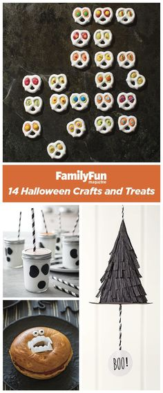 14 Halloween Party Decorations, Crafts, and Treats: Capture the spirit of the holiday with these frightfully delightful ideas!