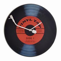 Reloj de pared Vinyl                                                                                                                                                                                 Más