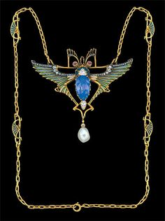 stavrovskaia:  insects in jewellery de art nouveau R.Lalique L.Gaillard L.Gautrait