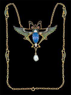 stavrovskaia:  insects in jewellery de art nouveau R.Lalique L.Gaillard L.Gautrait