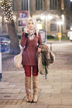#muslimah #winter fashion