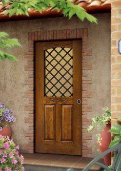 portoni ingresso a vetri - Outdoor Decor, Umbra, Decor, Cottage, Stone Cottage, Exterior, Stone, Doors, Home Decor