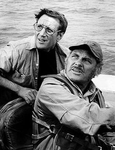 """""""You're gonna need a bigger boat"""" Roy Scheider says to Robert Shaw in Jaws."""