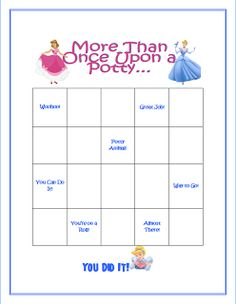Make Something Monday: Free Potty Charts!