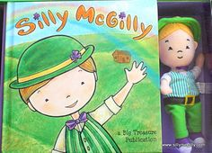 Silly McGilly is a friendly little leprechaun who loves nothing more than playing tricks on children.