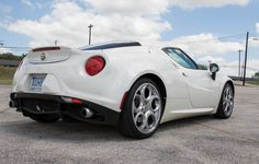 The Alfa Romeo 4C Shames Every Other Sports Car On The Market