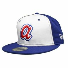 fitted hats | Atlanta Braves Cooperstown 59Fifty Throwback Fitted Hat at Fanzz.com