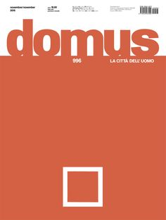 Domus 996, November 2015