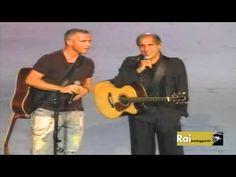 Adriano Celentano & Eros Ramazzotti Il Ragazzo Della Via Gluck Rockpolitik 2005 - YouTube