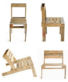 Pallet Chairs - /// Slow Noodle: The Pallet Project