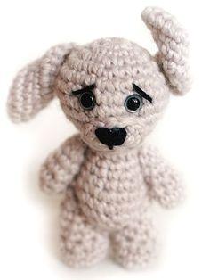crochet a small spot DIY