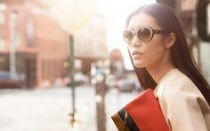 coach spring 2014 campaign2 Preview | Liu Wen + Karlie Kloss for Coach Spring 2014 Campaign by Craig McDean