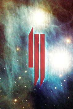 The awesome logo of the interesting techno/dubstep artist, Skrillex