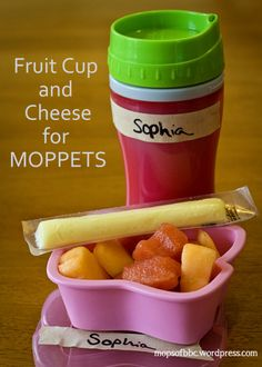 A MOPPETS snack idea