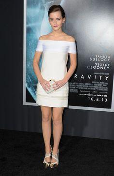 """Emma Watson en la premiere de """"Gravity"""" en New York City"""