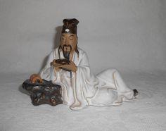 Shiwan Mudware Mud Men Chinese Figurine