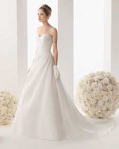 Rosa Clara vestido novia