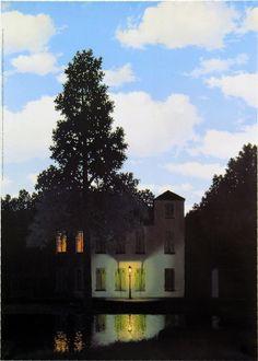 Magritte - L'empire des lumieres -1954.
