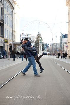 Shooting couple Clermont Ferrand