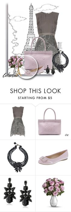 """""""Caley"""" by leanne-mcclean ❤ liked on Polyvore featuring Preen, Chanel and Merci Gustave!"""