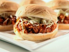 Asian Sloppy Joes. I made these for dinner last night - WOW! These will be going into our normal rotation of meals.