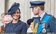 Duke and Duchess of Cambridge, March 13, 2015 | Royal Hats...Members of the British Royal Family attended a Service of Commemoration at St. Paul's Cathedral this morning, honouring the British military's involvement in Afghanistan which has now come to an end...
