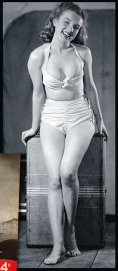Norma Jean Mortenson Then Changed To Norma Jeane Baker aka Marilyn Monroe