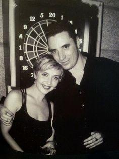 Loquillo y Susana. 1997. © Manel Esclusa. Que preciosidad de foto!!!!