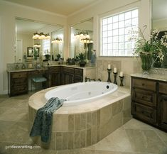 Master Bathrooms, Master Bathroom Photos - getdecorating.com