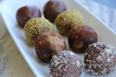 Snickers Protein Balls are made from all wholefood ingredients. Packed with natural protein, lupins, these balls will have you feeling fuller for longer. Butter Rice, Peanut Butter, Snickers Protein, Natural Protein, Almond Meal, Protein Ball, How To Eat Less, Almond Recipes, Syrup