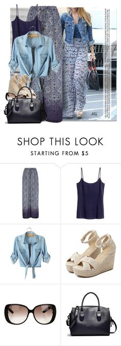 """""""Ready for an getaway?"""" by breathing-style ❤ liked on Polyvore featuring Monday, H&M, WithChic and Gucci"""