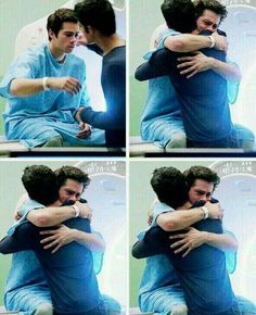 Brothers for life Scott and Stiles