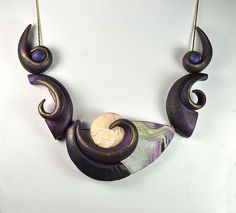 Jan Geisen. Jan is one of the artists featured in the gallery of my new book.  Shapes, 25 Inspirational Designs in Polymer Clay