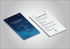 Creative business card for iOS Developer on Behance