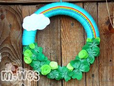 St. Patrick's Wreath Saint Paddy's Day by MrsWidemansCraftShop, $31.00